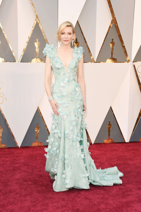 Cate Blanchett in Armani. Source: intyle.com Photo: Getty Images