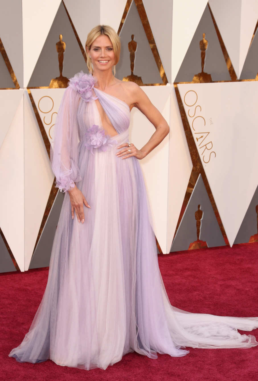 Heidi Klum in Marchesa  Source: in style.com  Photo: Getty Images