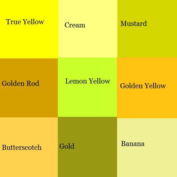 CS03- Yellow Pallet